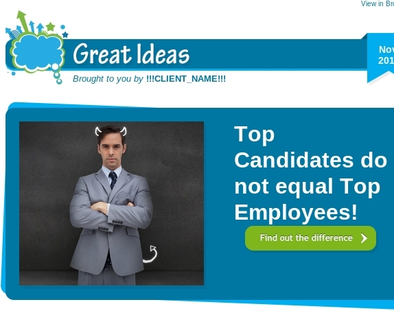 Top Candidates do not equal Top Employees